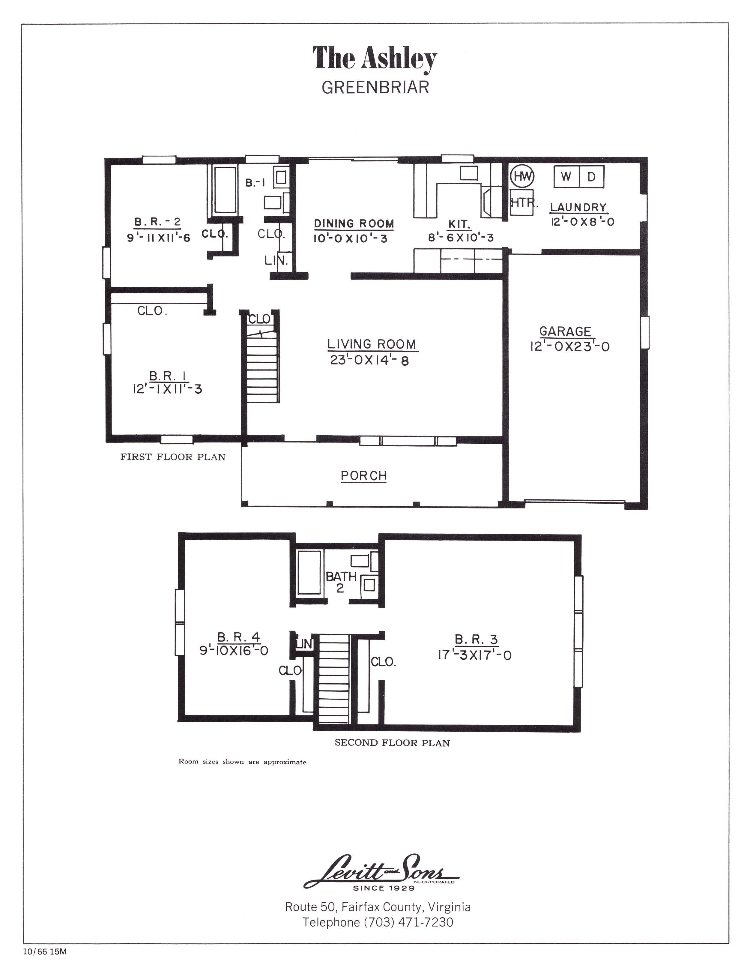 levitt house plans