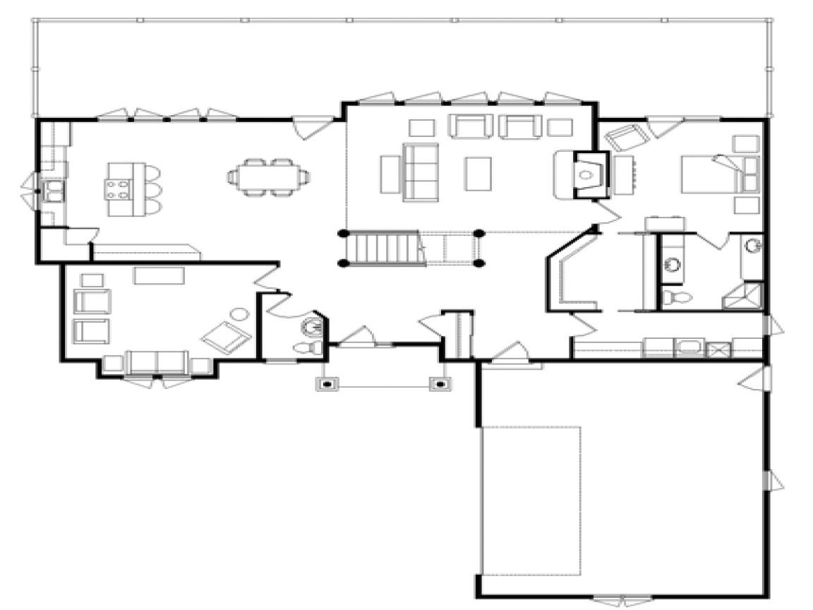 log home floor plans free