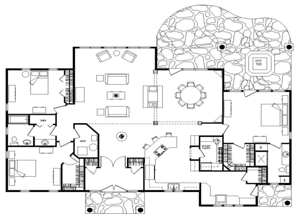 48b3efcf91b92c08 log home floor plans ranch floor plans log homes