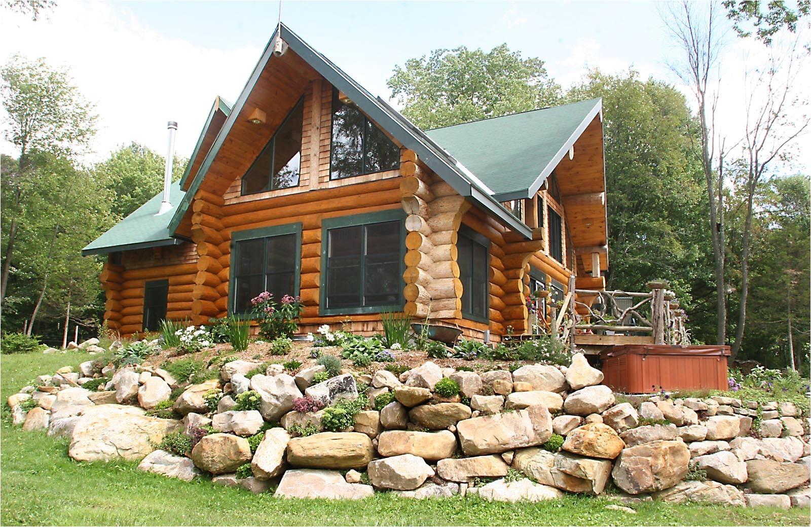 2525 log cabin designs ontario