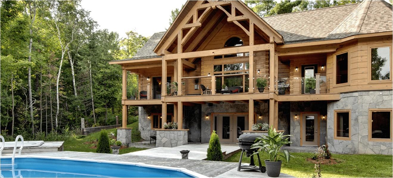 log home designs ontario canada