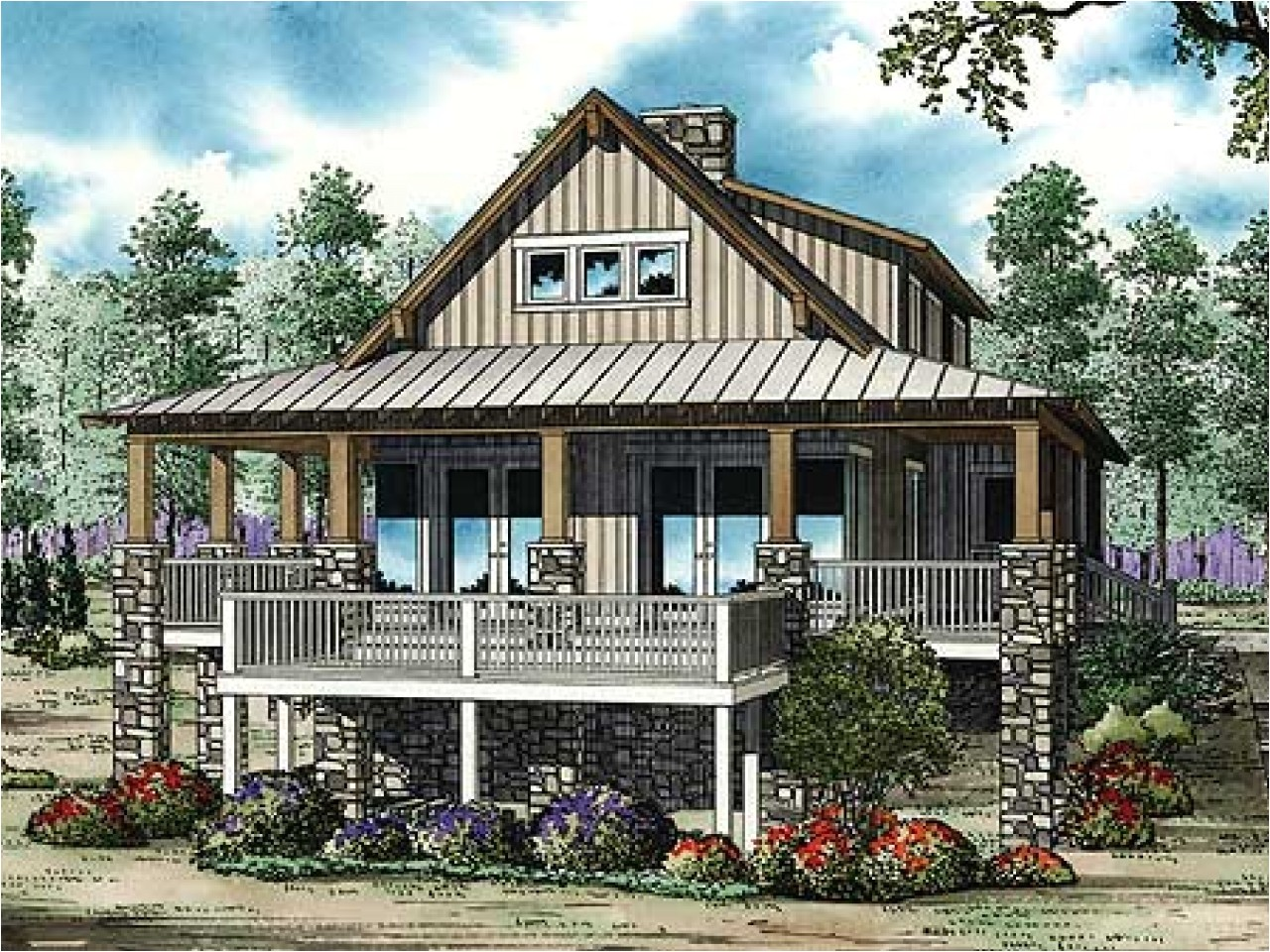 low country home designs