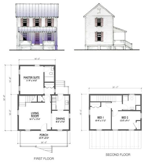 Lowes House Plan Kits Katrina Cottages Rolled Out by Lowes Nationwide Treehugger