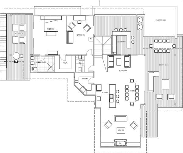 beach house floor plans australia