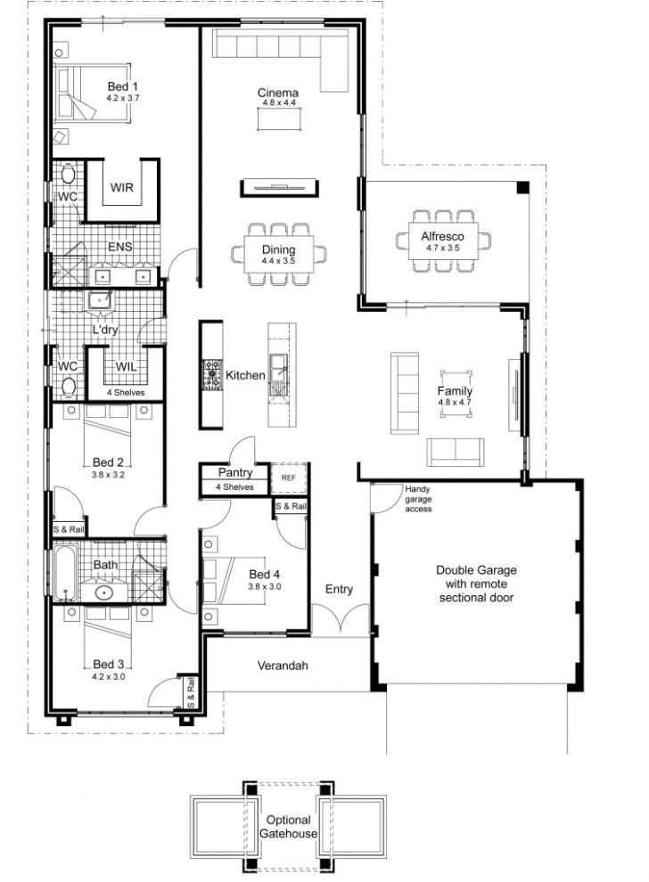 modern australian house plans