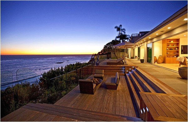 waterfront vacation home plans oceanfront luxury home for sale in malibu