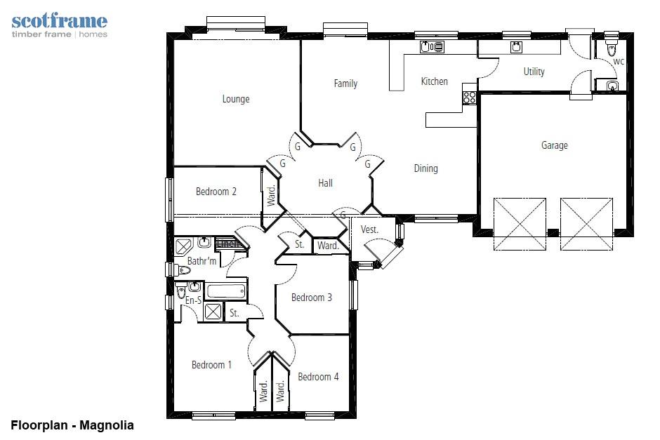 magnolia modular home floor plans