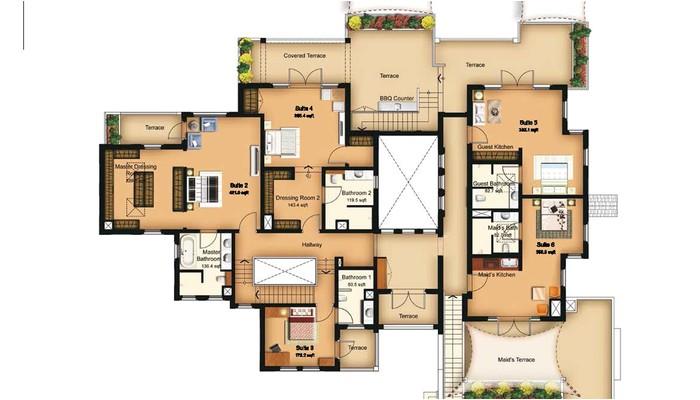 maids quarters house plans