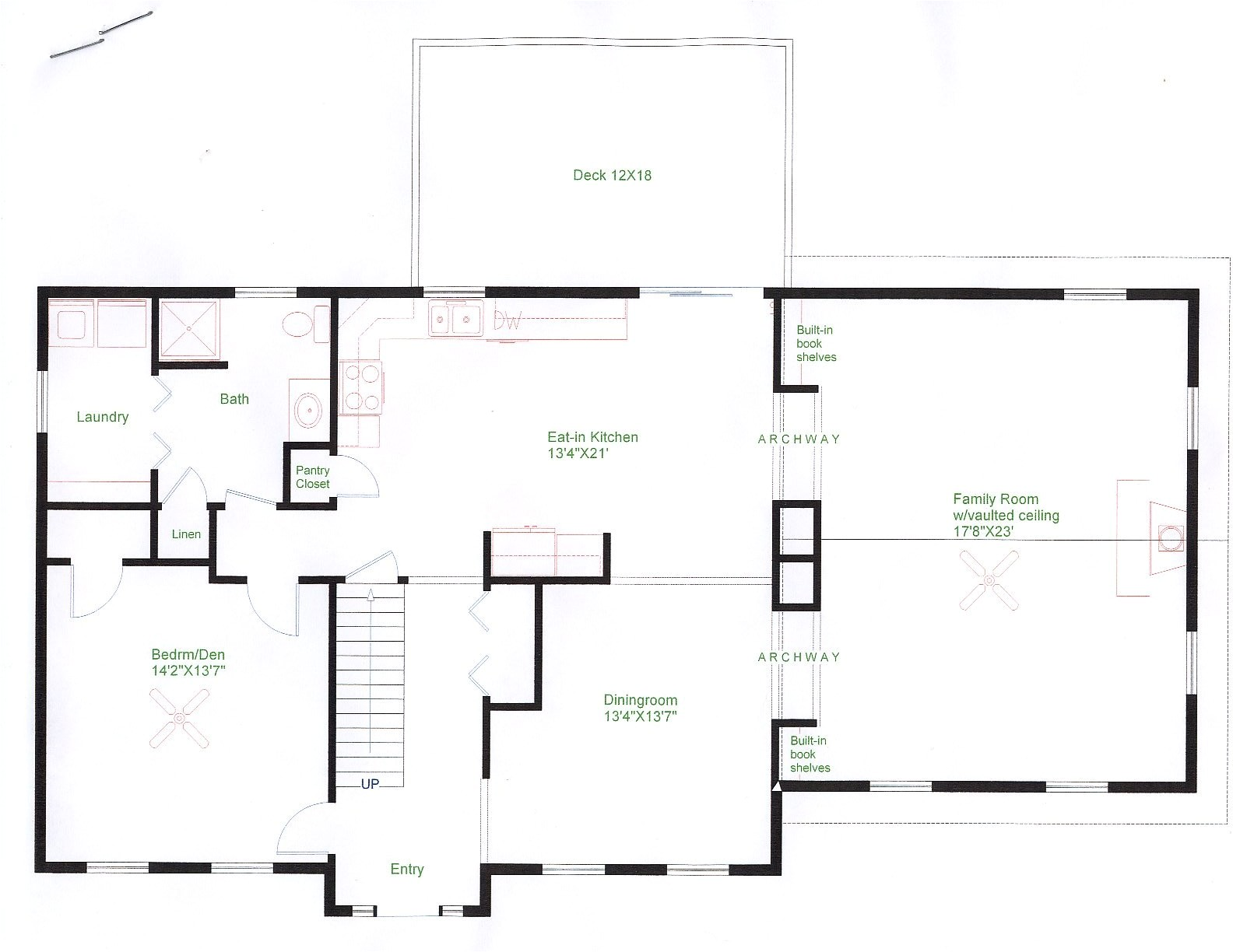 floor plans for colonial homes