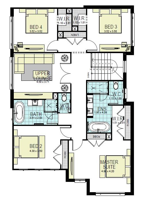 henley homes majestic floor plan