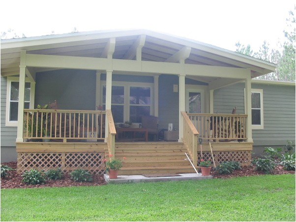 awesome mobile home porch plans 6 mobile home front porch additions