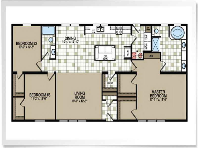double wide mobile home floor plans pictures