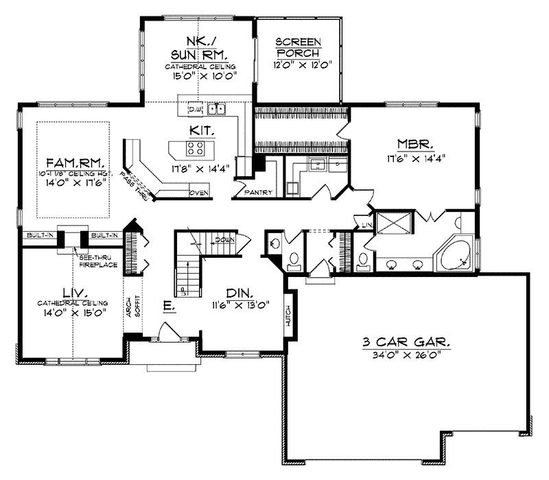 Menards Stovall House Plan on