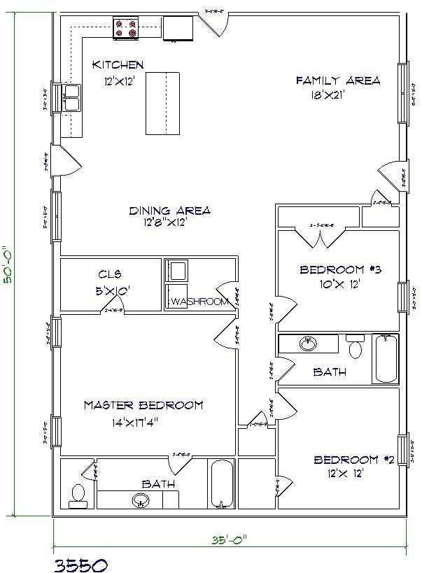 top 5 metal barndominium floor plans for your dream home hq plans