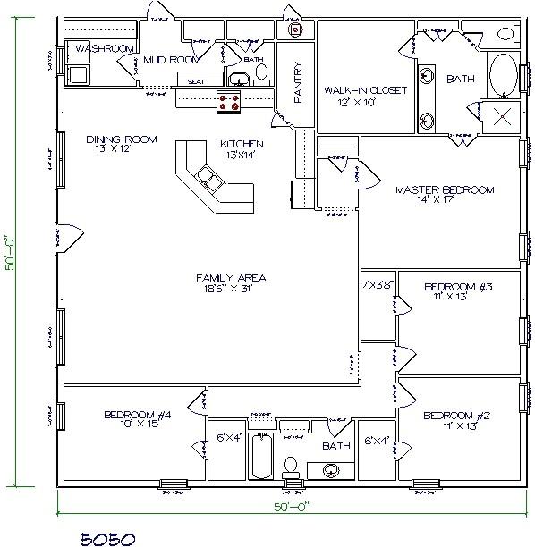 Metal Barn Home Plans top 5 Metal Barndominium Floor Plans for Your Dream Home