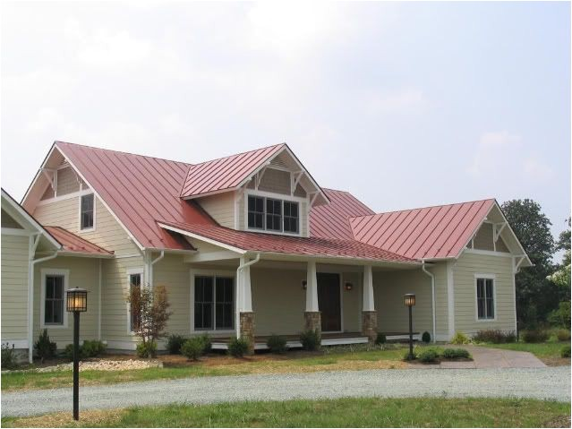 the red roof house