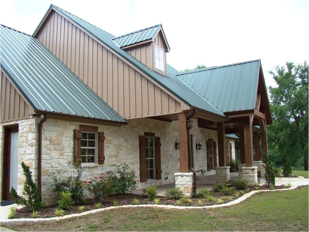texas hill country house plans metal roof