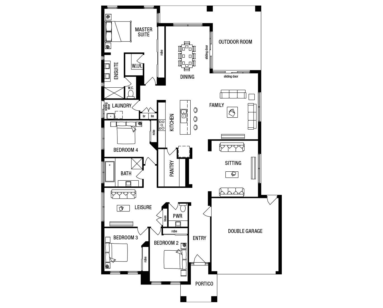 metricon homes floor plans