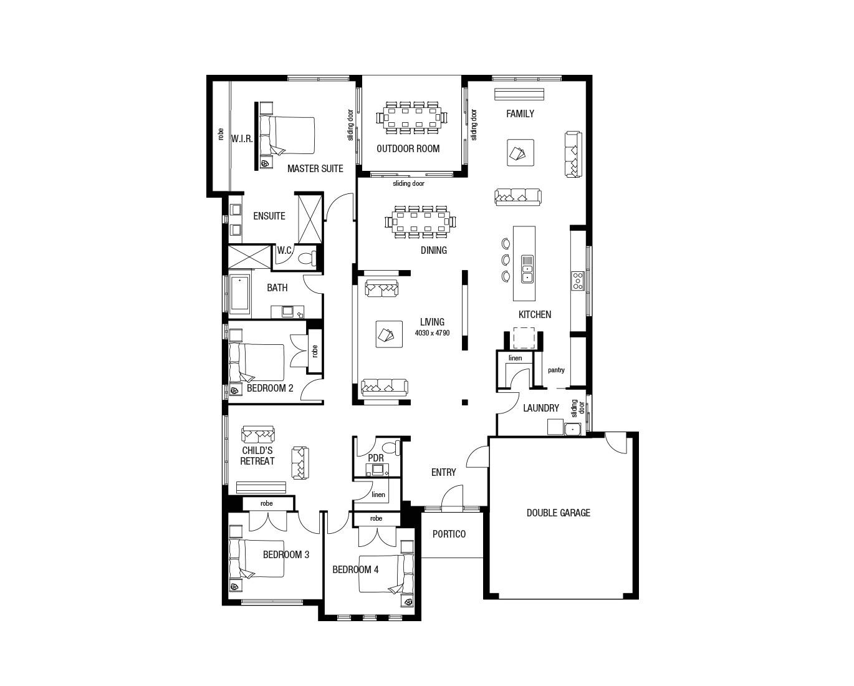 metricon homes house plans