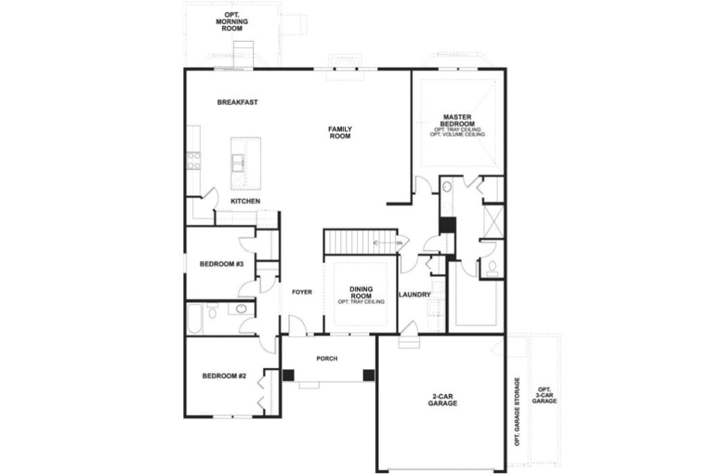 Mi Homes Floor Plans the Cheswicke Floorplan M I Homes Of Chicago Inside Mi