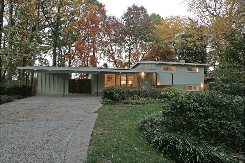 mid century modern atlanta homes for sale