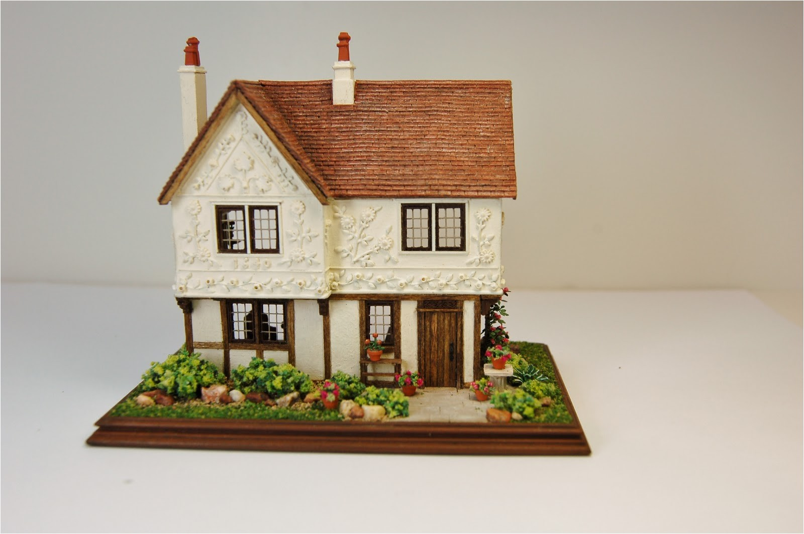 pargeted house