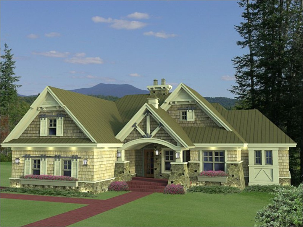 best craftsman bungalow style home plans