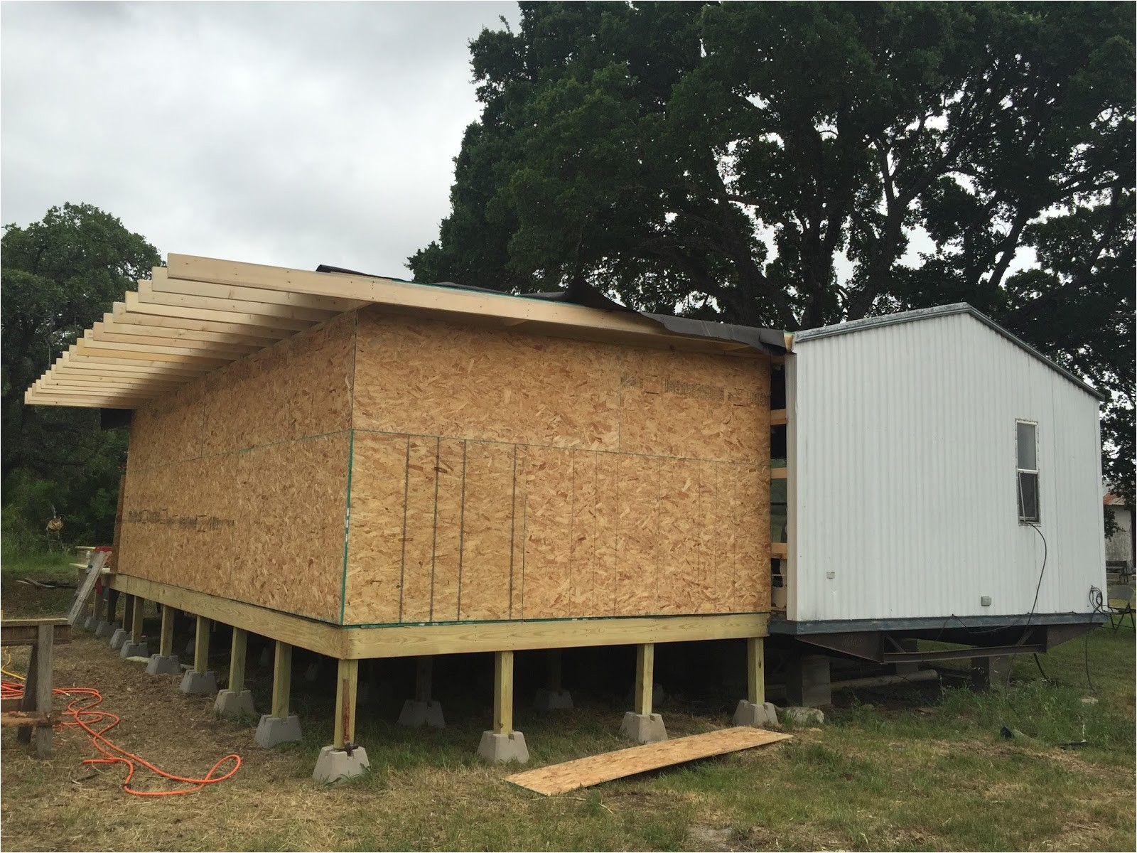 mobile home additions guide footers