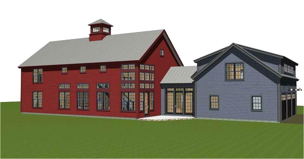 modern barn house plans floor