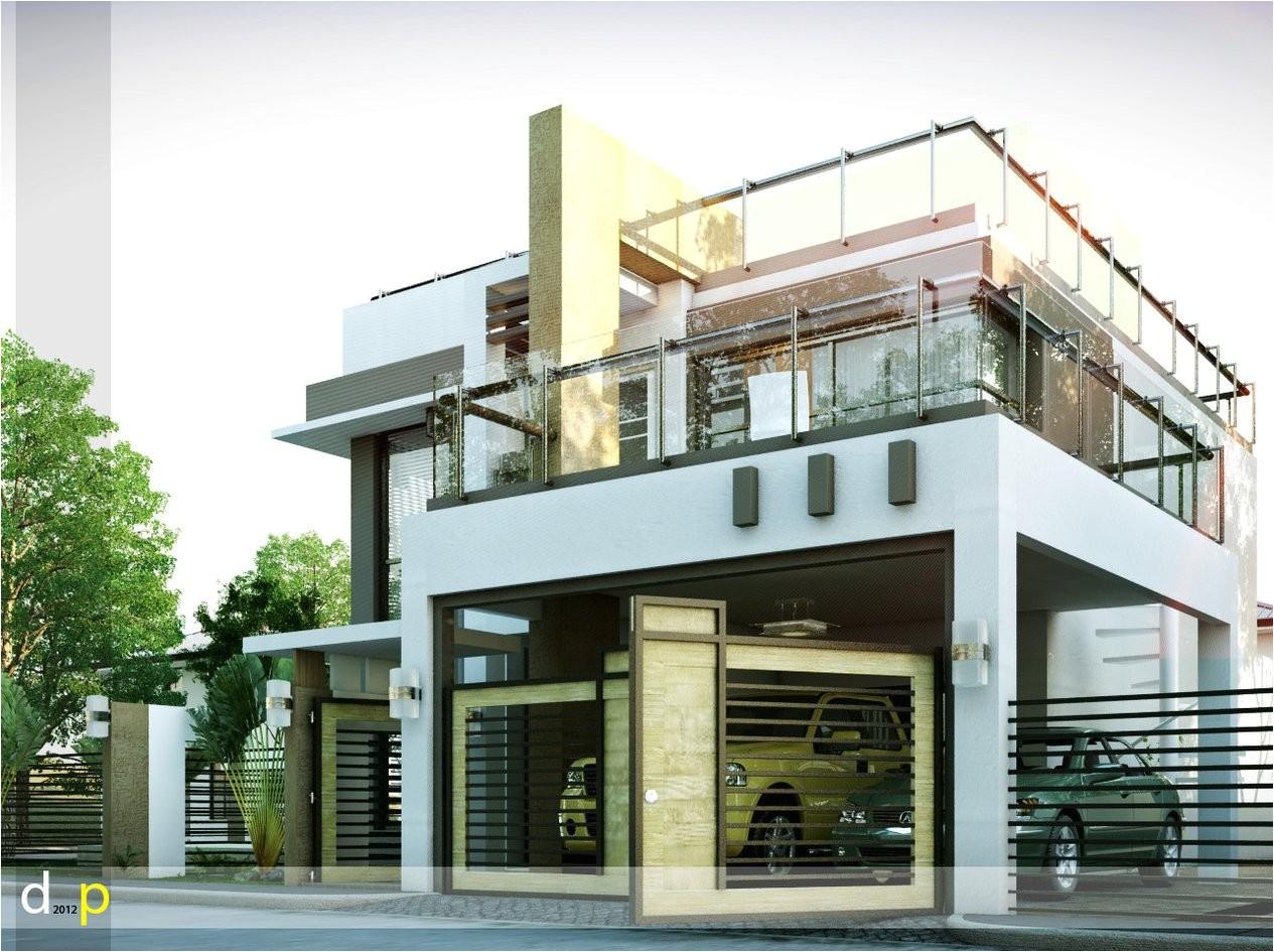Modern Home Design Plans Modern House Designs Series Mhd 2014010 Pinoy Eplans