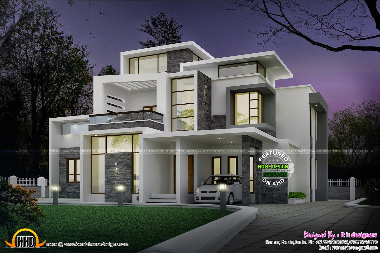 grand contemporary home design
