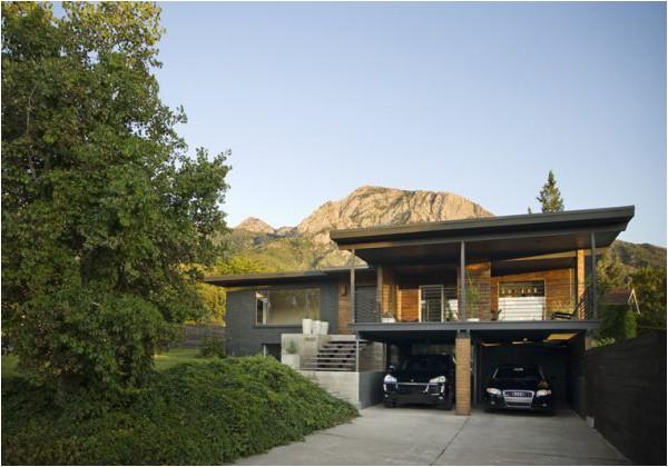 utah modern homes for sale dark walnut makes it