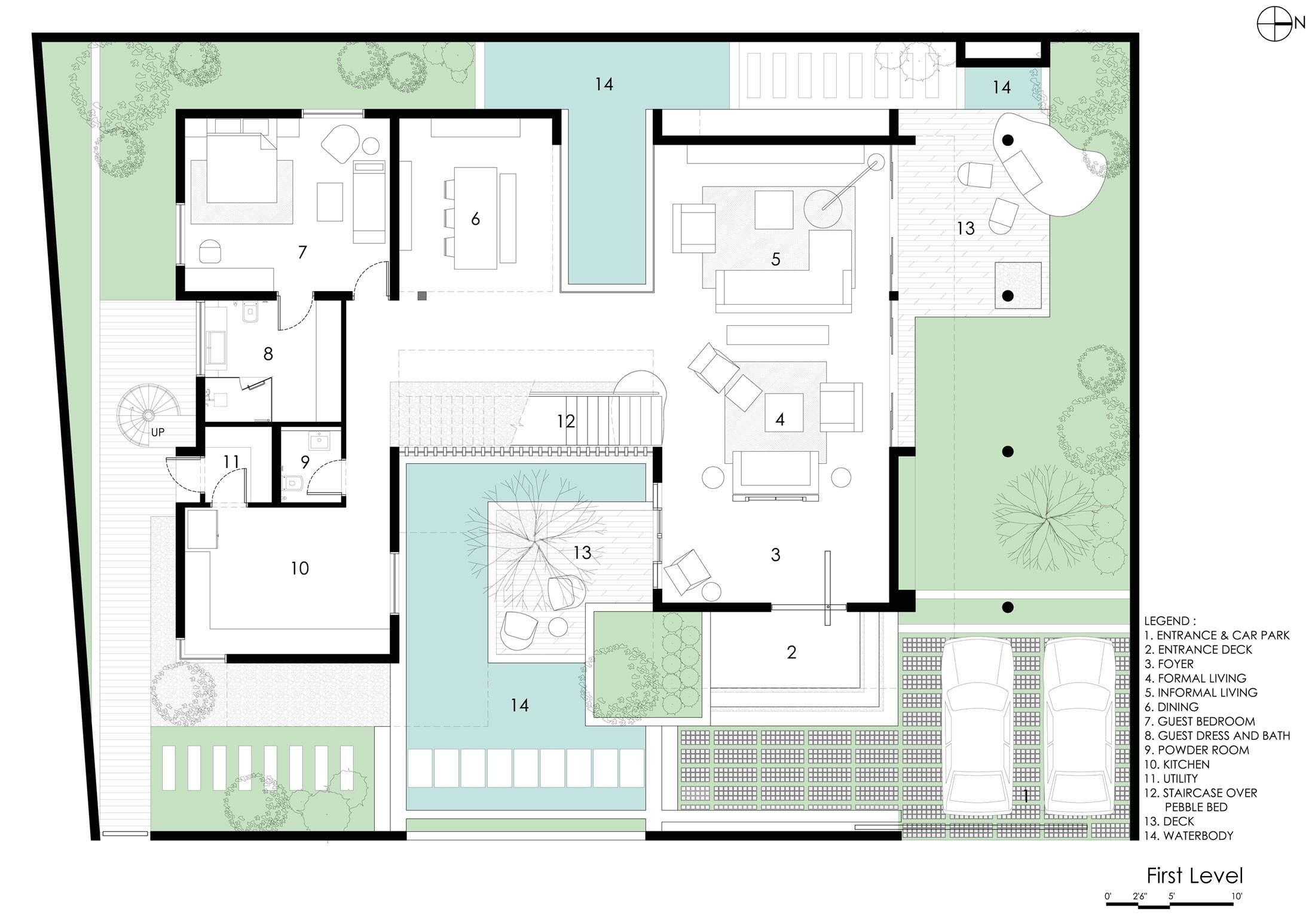 courtyard house designs sows modern courtyard home designs