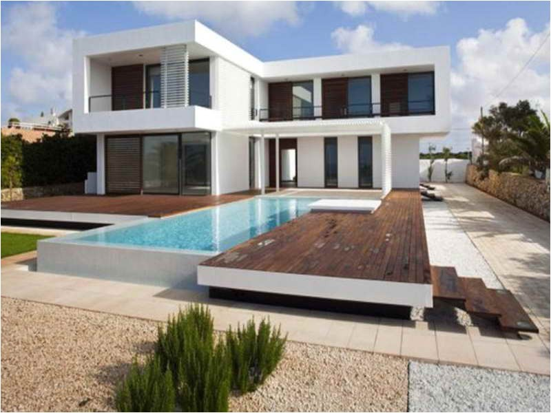 Modern Home Plans with Pool Architecture Plan Small Contemporary House Plans