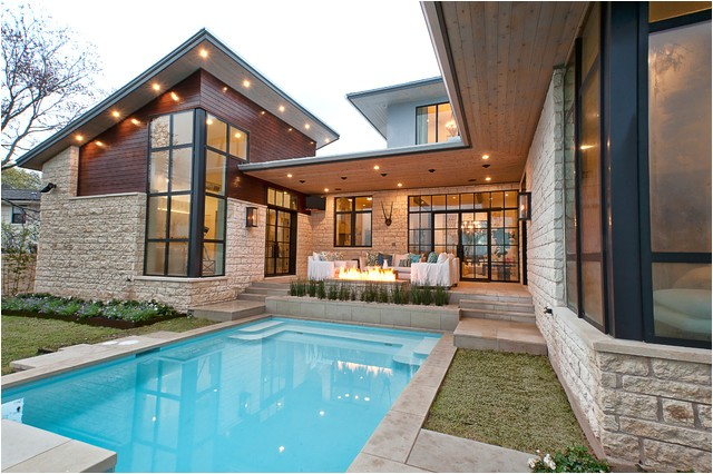 house plans with pools outdoor sitting and beautiful garden