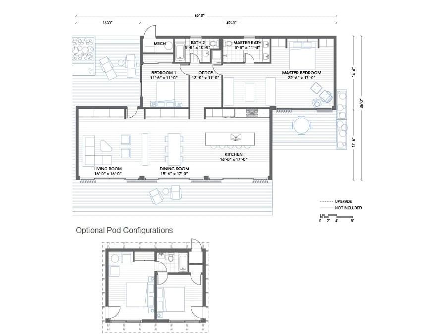 Modern Modular Home Floor Plans Blu Homes Glidehouse Prefab Home Modernprefabs