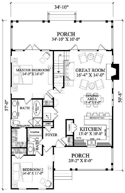 5 modest farmhouse floor plans that still hold a lot of family