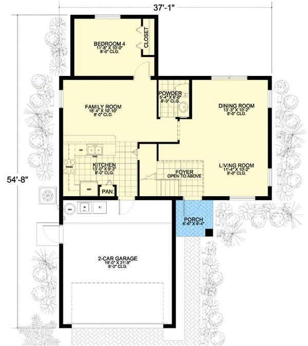 modest footprint 32226aa