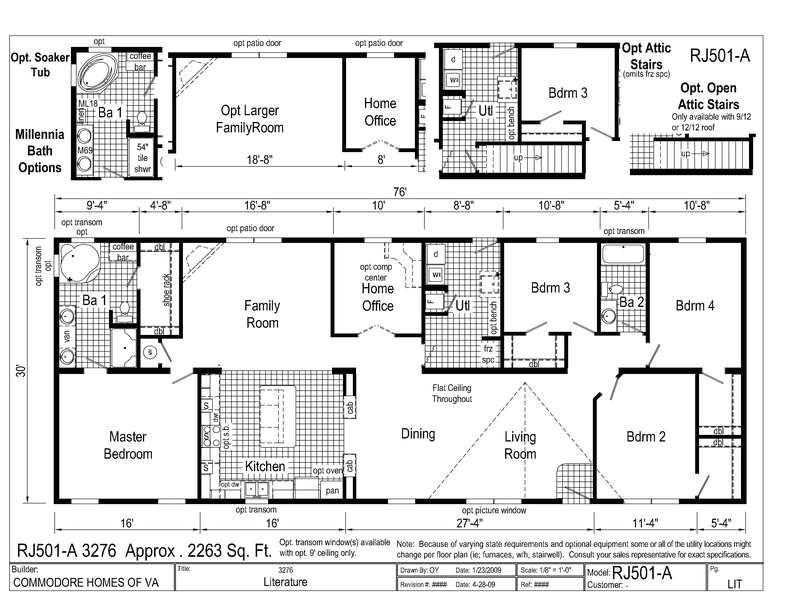 modern modular home floor plans