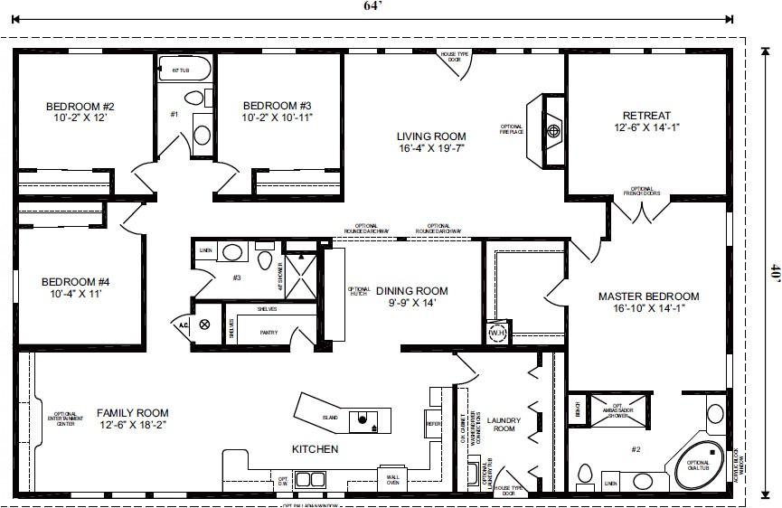 modular homes florida floor plans