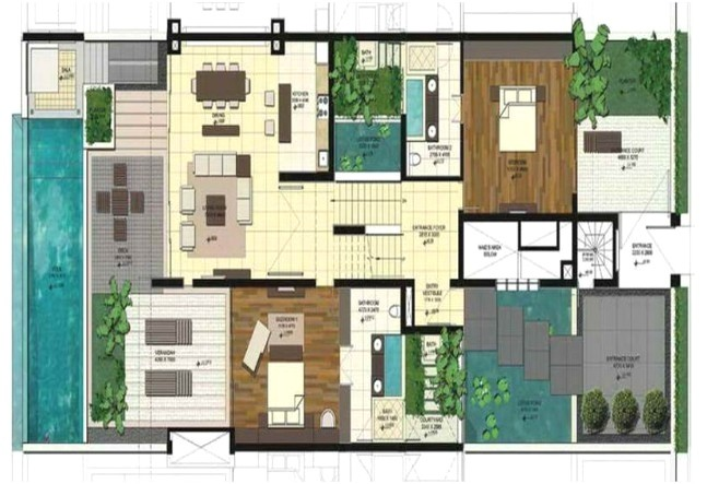 modular home floor plans with inlaw apartment