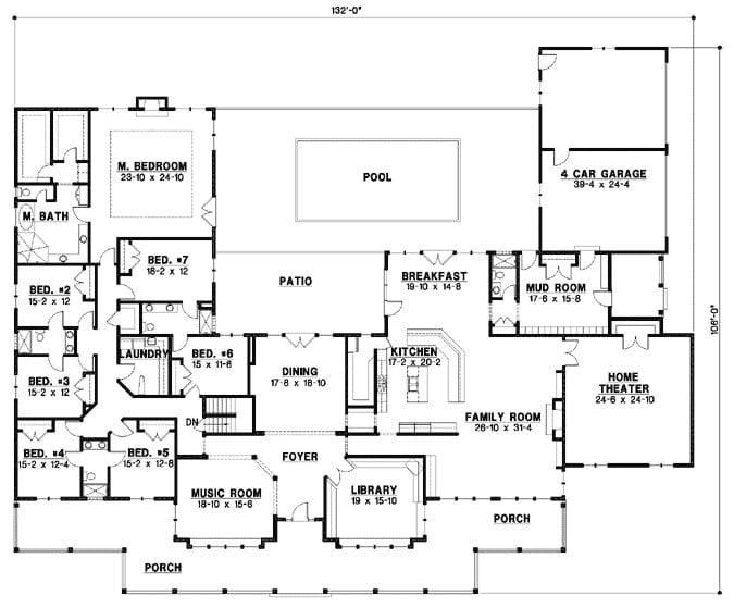 monster house plans ranch luxury country style house plans plan 21 994