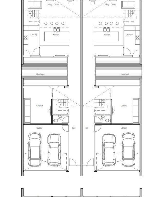 Multi Family House Plans Narrow Lot Multi Family House Plans Narrow Lot 2018 House Plans and