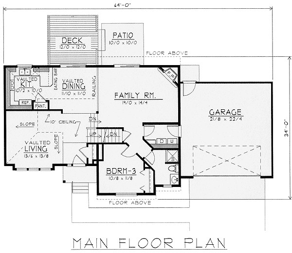 Multi Level Home Floor Plans Exciting Multi Level House Plan 14010dt 2nd Floor