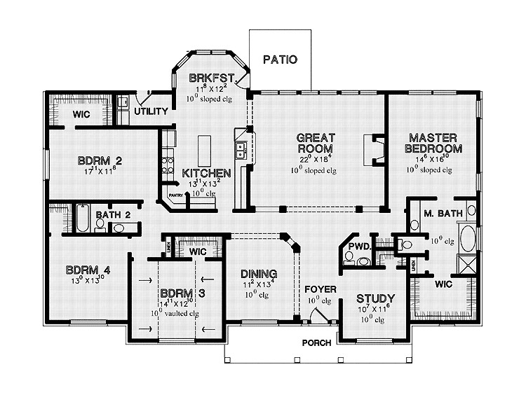 2002 oakwood mobile home floor plans