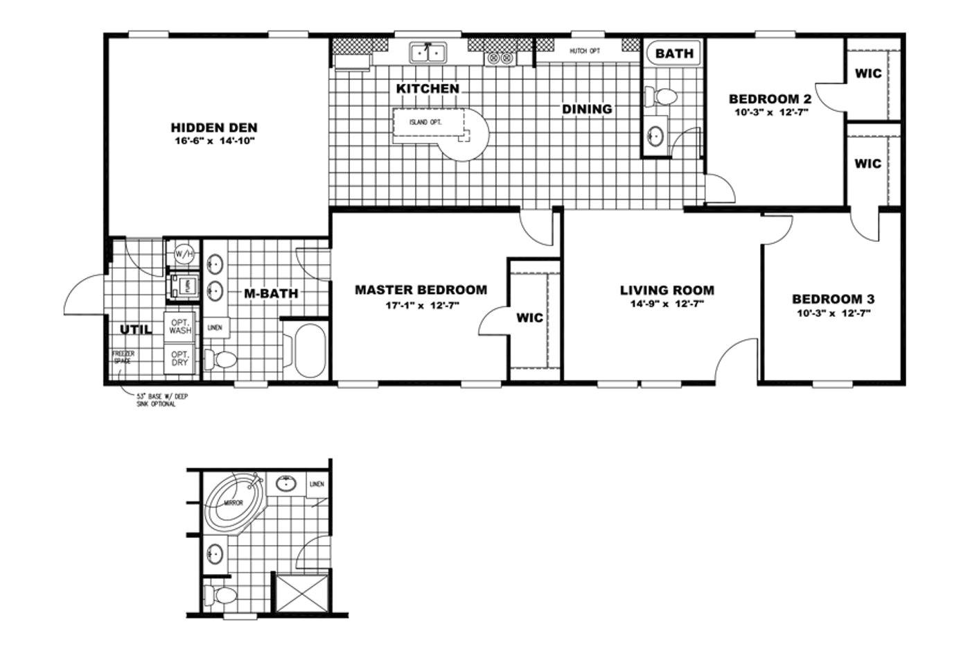 oakwood manufactured homes floor plans