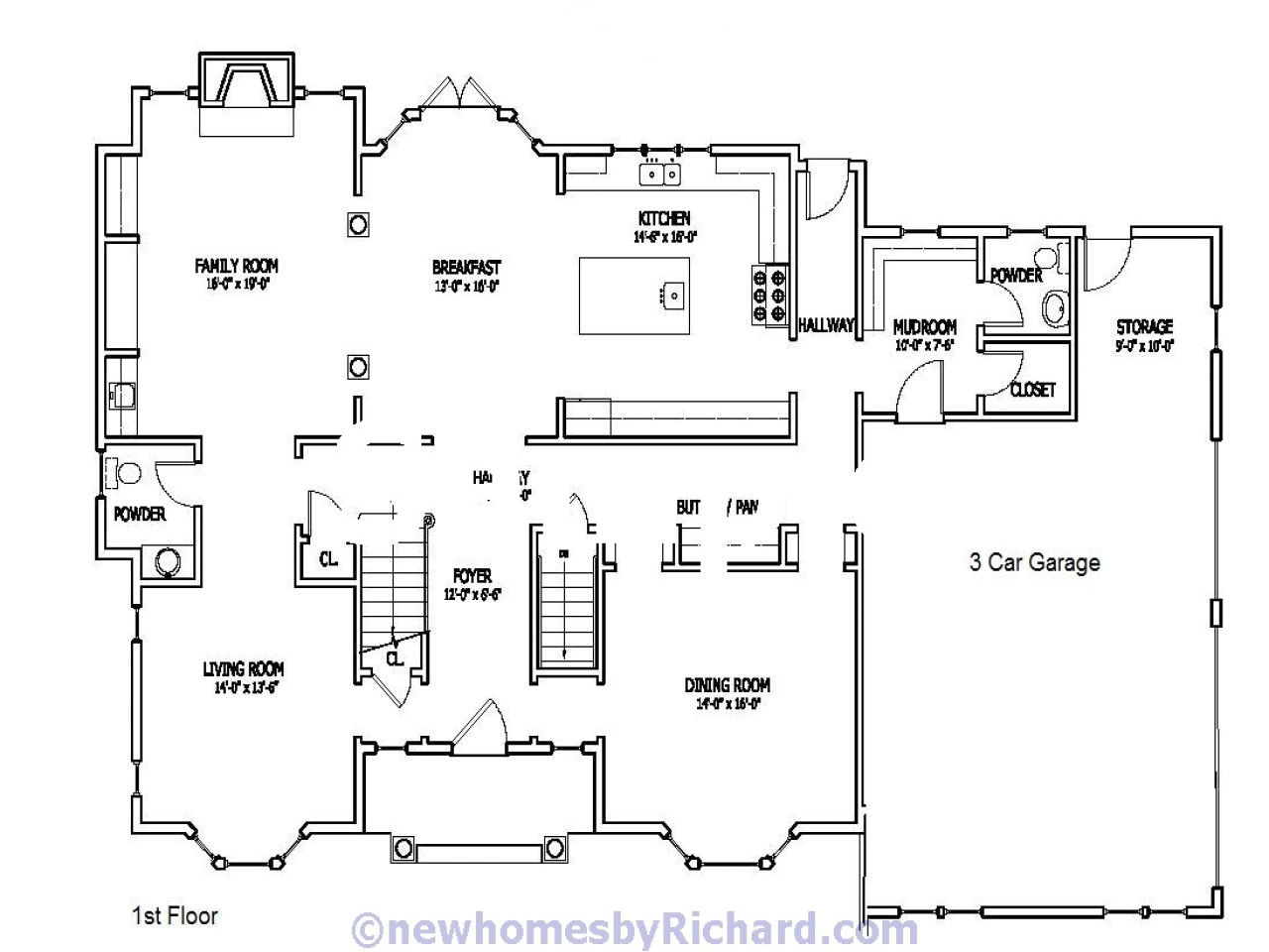 old farmhouse floor plans