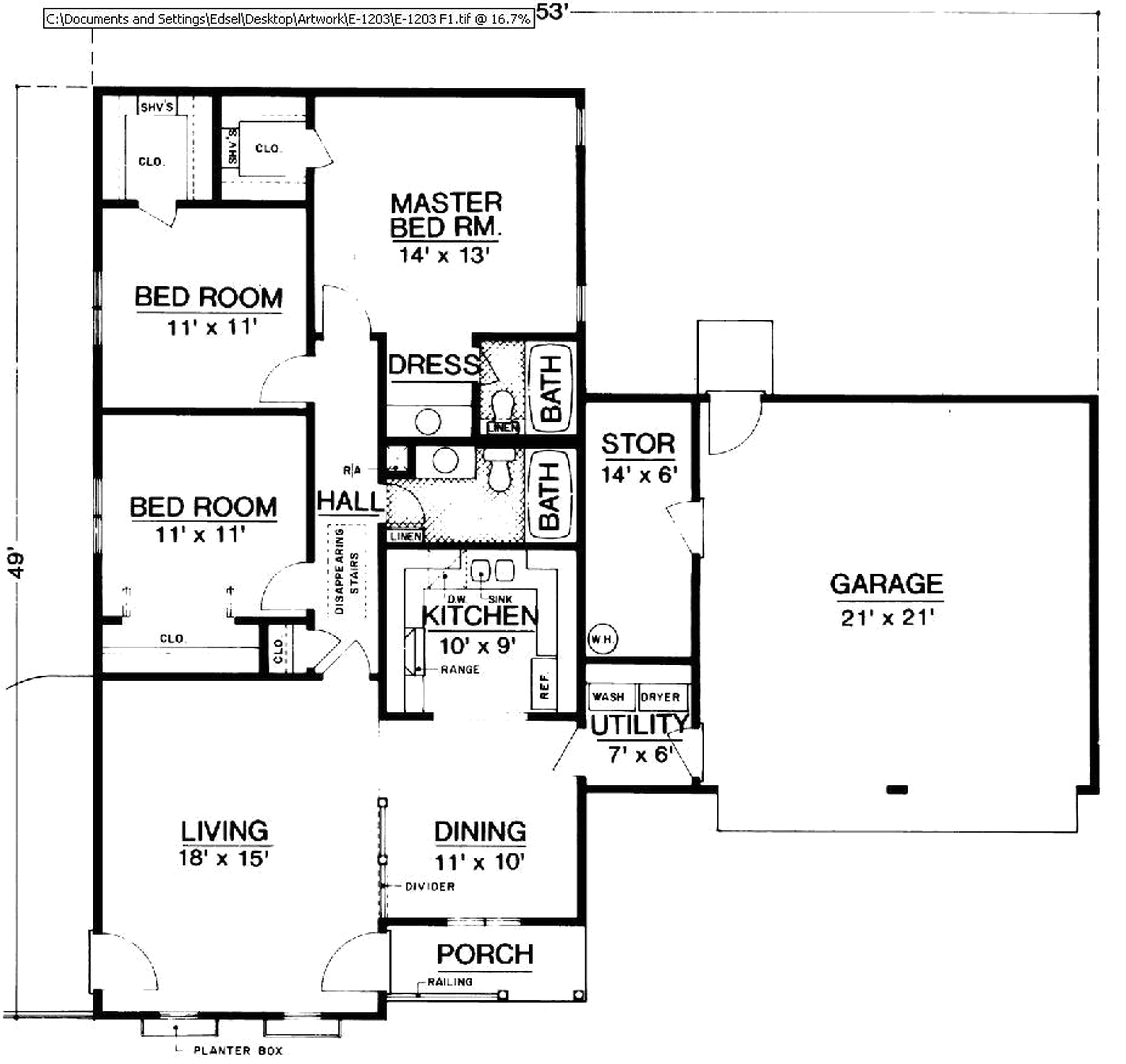 Old Kb Homes Floor Plans Wonderful 1 Level House Plans Images Exterior Ideas 3d