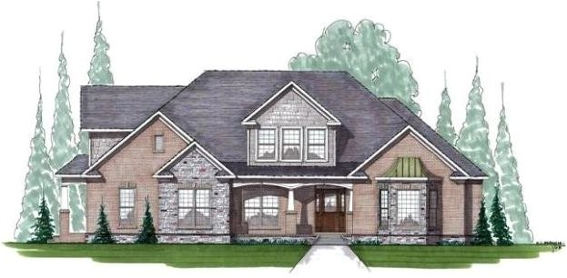one and a half storey house plans
