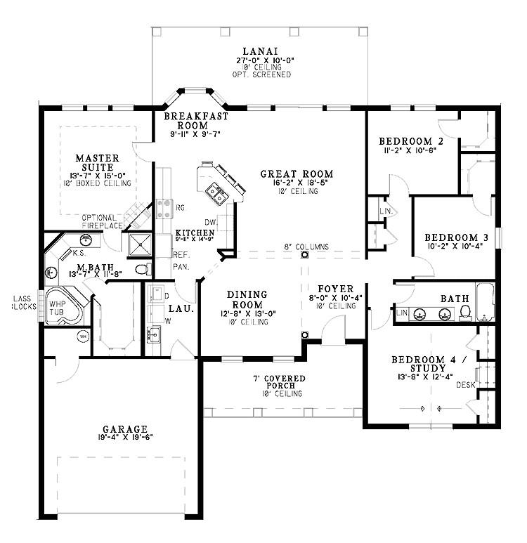 One Level Home Plans One Level Home Plans Smalltowndjs Com